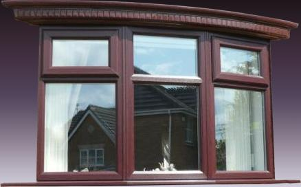 Augustus Bow Window Canopy And Baseboard